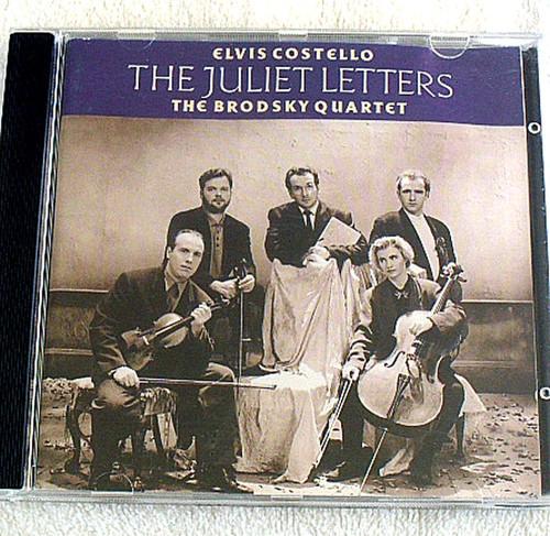 Neo Classical Pop - ELVIS COSTELLO & THE BRODSKY QUARTET Juliet Letters CD 1993