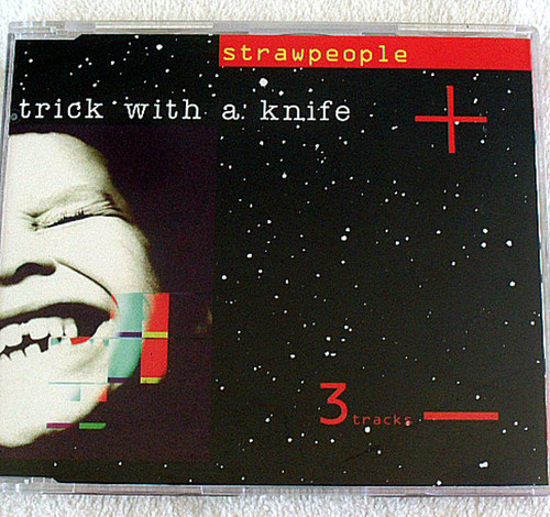 House Downtempo - STRAWPEOPLE Trick With A Knife CD Single 1994