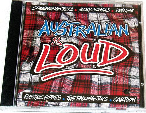 Alternative Rock - CRASH BANG RECORDS Australian & Loud 1994 CD