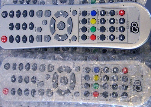 OMNI PVR Remote Control ONLY Model: Go D540 (Brand New)