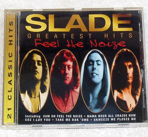 Glam Rock - Slade Greatest Hits Feel The Noize CD 1997