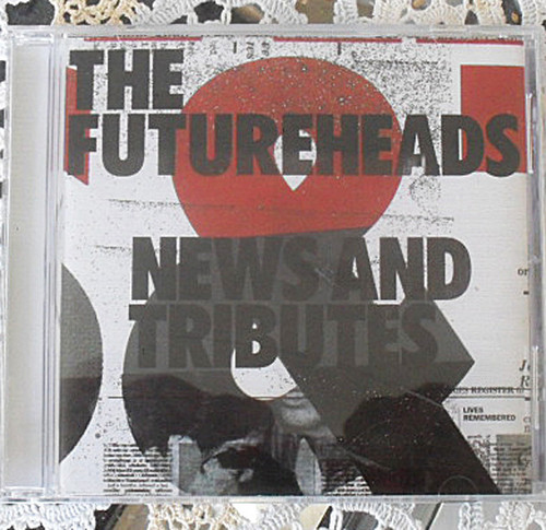 Post Punk - THE FUTUREHEADS News And Tributes CD 2006