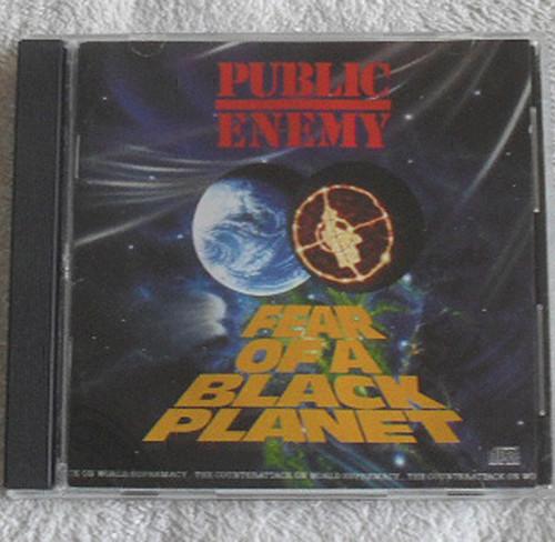 Gangsta Hip Hop - Public Enemy Fear Of A Black Planet CD 1990