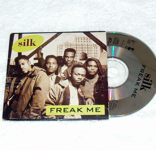 RnB - Silk Freak Me CD Single 1993