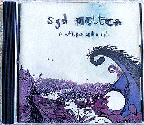 Indie Folk Rock  - SYD MATTERS  A Whisper And A Sigh CD 2002