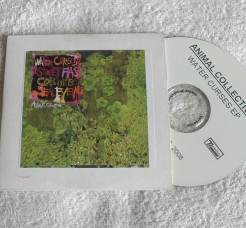 Avante Garde Rock - ANIMAL COLLECTIVE Water Curses Promotional CD EP (Card Sleeve) 2008