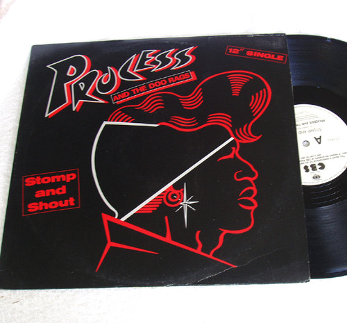 Disco - Process & The Doo Rags Stomp And Shout Vinyl 1985