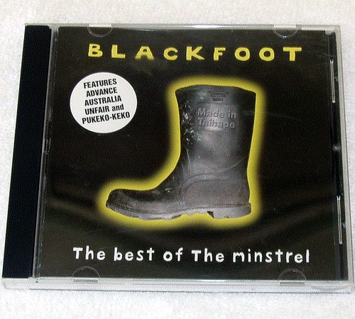 Comedy - Blackfoot The Best Of The Minstrel CD 2003