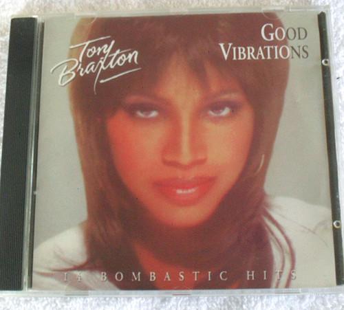 RnB Swing - TONI BRAXTON Good Vibrations CD 1997
