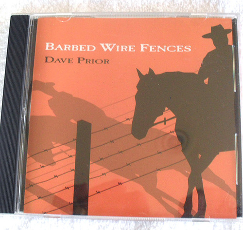 Australian Country Comedy - DAVE PRIOR Barbed Wire Fences CD 2004
