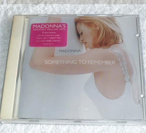 Pop Ballads - MADONNA Something To Remember CD (Compilation) 1995
