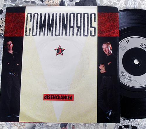 "Pop - Communards dISENChANtED 7"" Vinyl 1985"