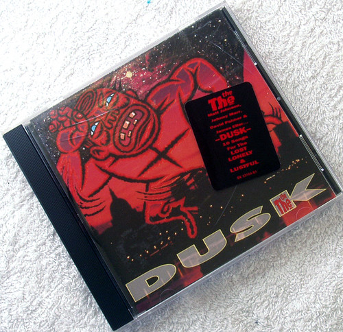 Alternative Rock Pop - THE THE Dusk CD 1993 (USA Issue)