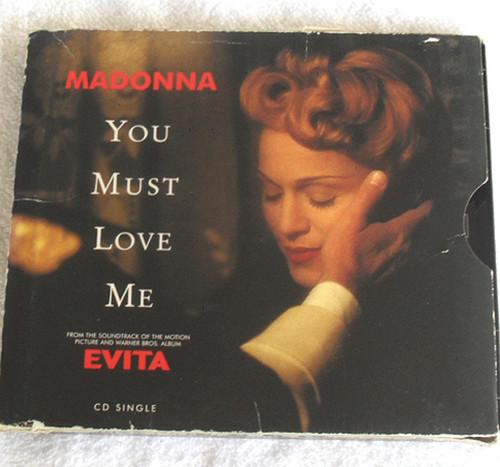 Pop Ballad - MADONNA You Must Love Me (Evita) CD Single (Digipak) 1996