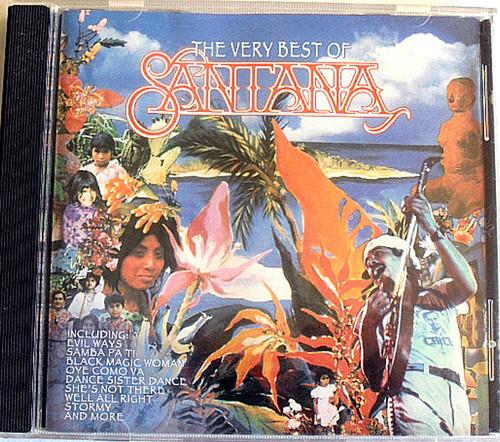 Latin Rock - Santana The Very Best Of  CD 1994