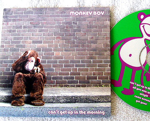 Rock - Monkey Boy Can't Get Up In The Morning CD EP 2004