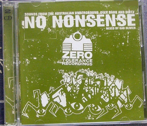 Progressive House Breakbeat - Gab Olivier No Nonsense 2x CD 2002