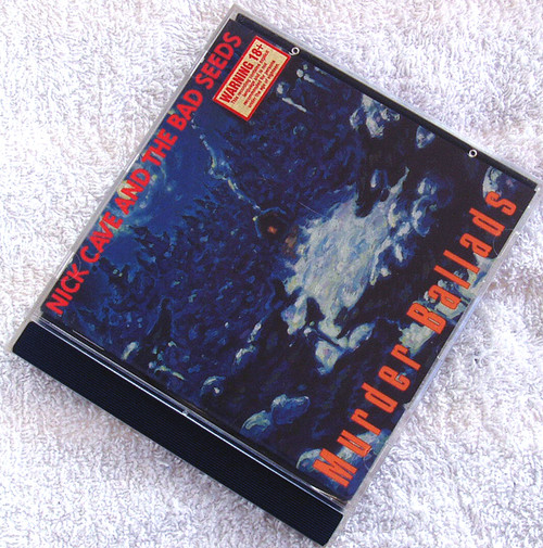 Art Rock  - NICK CAVE AND THE BAD SEEDS Murder Ballads CD 1996