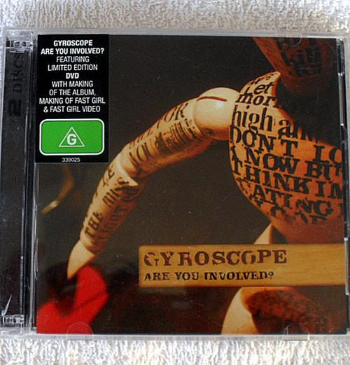 Alternative Rock - GYROSCOPE Are You Involved? CD &  DVD 2005