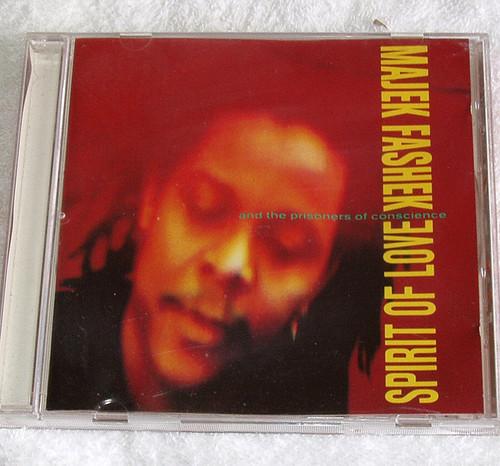Reggae - MAJEK FASHEK Spirit Of Love CD (Demo) 1991