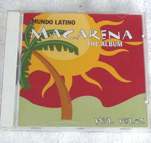 Latino Salsa - Wil Veloz Mundo Latino (Macarena) The Album CD