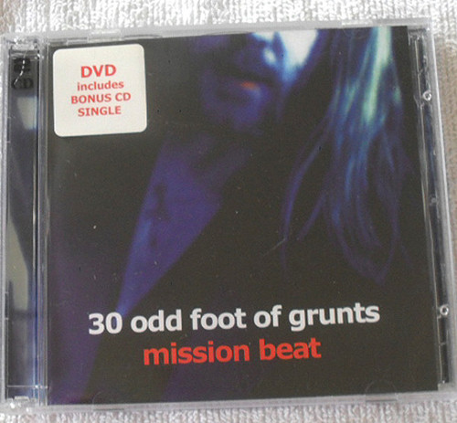 30 Odd Foot Of Grunts Mission Beat CD Single/DVD 2003