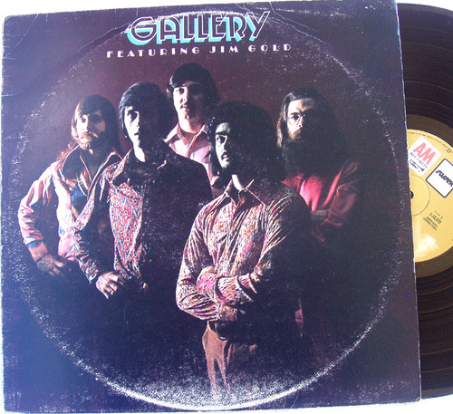 Country Rock - Gallery (Jim Gold) Self Titled  Vinyl 1973