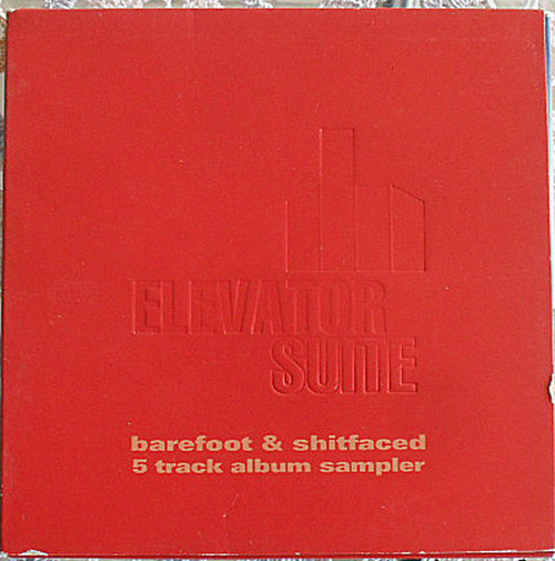Electro House - ELEVATOR SUITE Barefoot & Shitfaced CD EP (Card Sleeve) 1999