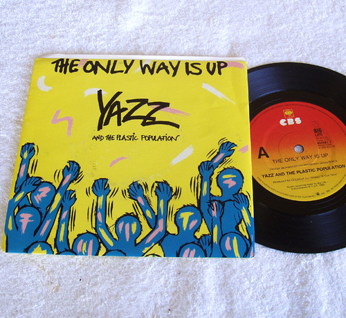 Euro House - YAZZ The Only Way Is Up Vinyl 1985