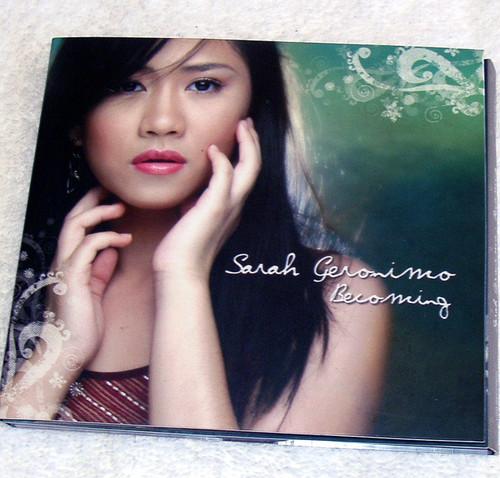 Ballad - SARAH GERONIMO Becoming CD (Digipak) 2006
