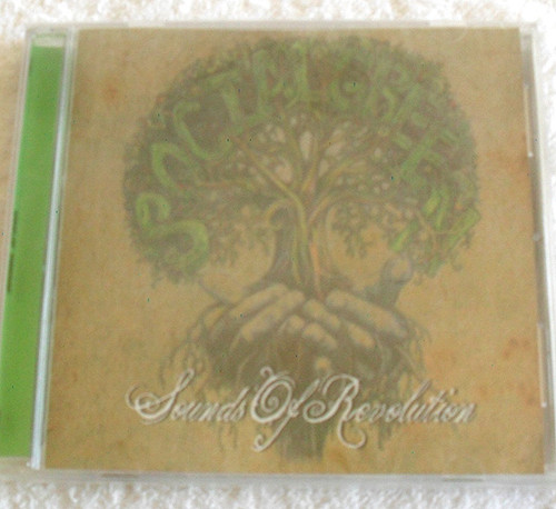 Reggae Rock - SOCIAL GREEN Sounds Of Revolution CD 2008 (NEW)