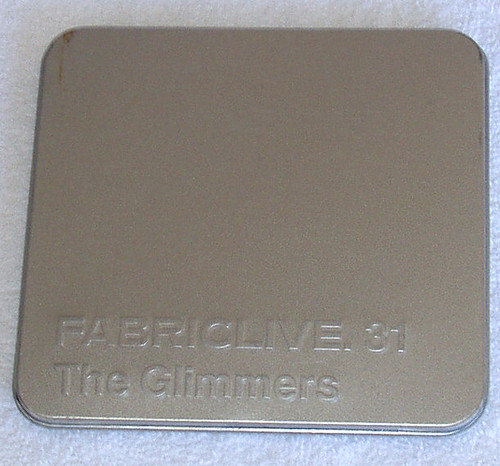 Electro House Dub Disco - THE GLIMMERS Fabriclive. 31 (The Remixes) CD 2007