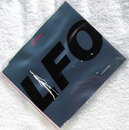 Bleep Techno - LFO (Low Frequency Oscillation) We Are Back CD Single 1991