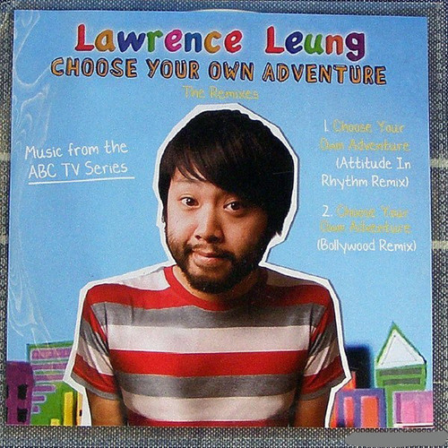 Comedy Pop - LAWRENCE LEUNG (ABC) Choose Your Own Adventure Promotional CD Single (Plastic Sleeve) 2009