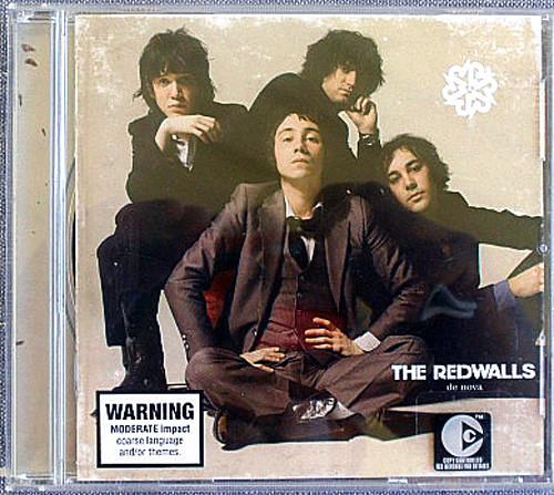 Garage Rock - The Redwalls De Nova CD 2005