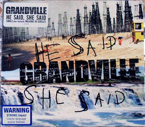 Australian Rock - Grandville He Said She Said CD EP 2003