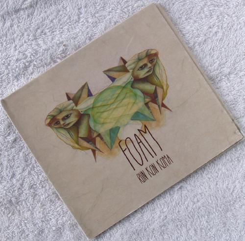 Alternative Rock - FOAM Run Kon Koma CD EP (Card Digipak) 2013