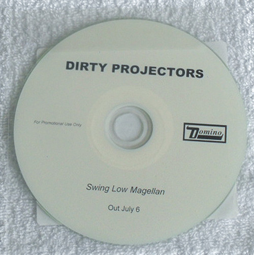 Acoustic Alternative Rock - DIRTY PROJECTORS Swing Low Magellan Promotional CD (Plastic Sleeve) 2012