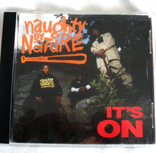 Hip Hop - NAUGHTY BY NATURE It's On CD Maxi Single 1993