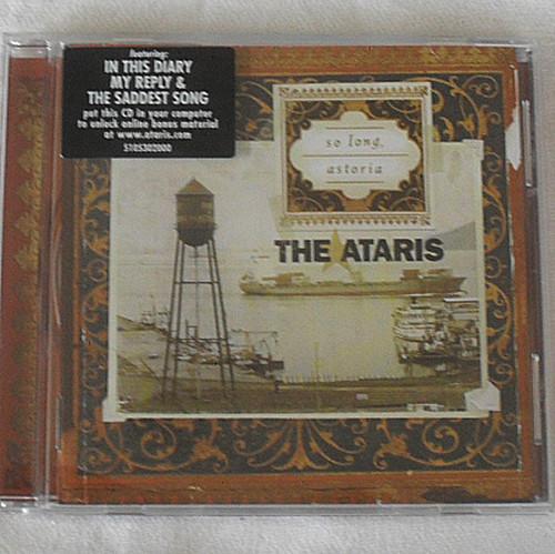 Punk Emo Rock - THE ATARIS So Long Astoria CD 2003