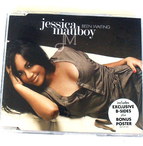 RnB Soul - JESSICA MAUBOY Been Waiting CD Single 2009 (With Poster)