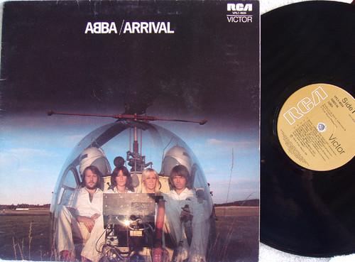 Disco Pop Rock - ABBA  Arrival  Vinyl 1976