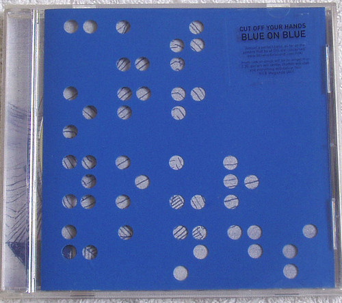 Indie Rock - CUT OFF YOUR HANDS Blue On Blue CD EP 2007