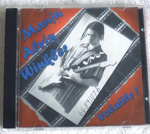 Blues Guitarist - MANJU ALVIN WINKLER Volatile! CD EP 1999