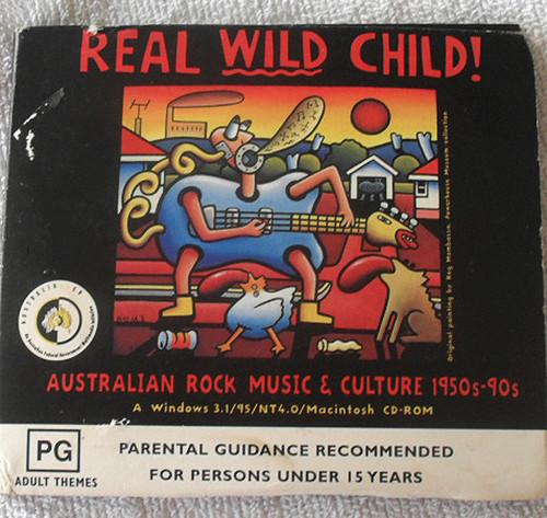 Rock Pop - REAL WILD CHILD Australian Rock Music & Culture CD (Digipak) 1998