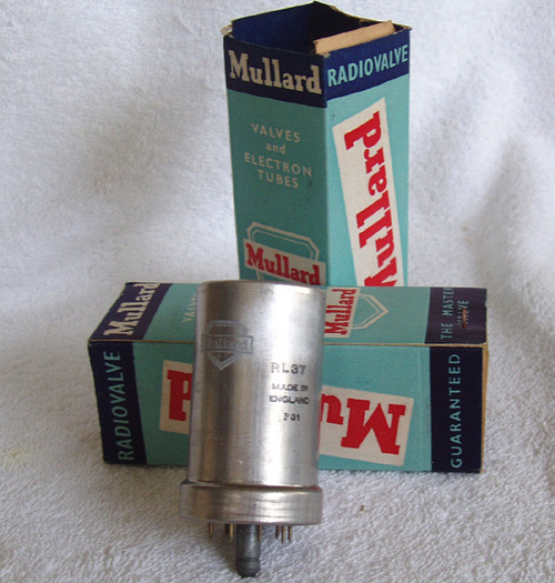 MULLARD RL37 CV66 Triode (Metal Can) Valve Tube