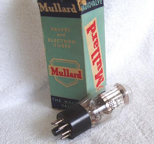 Historical Mullard 884 Thyratron tube valve