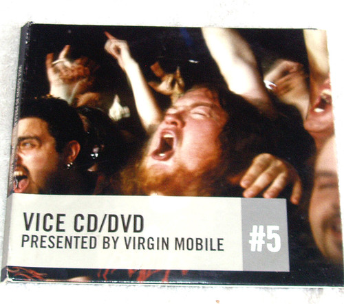 Alternative Indie Punk Experimental Rock - VICE (VIRGIN MOBILE) #5  CD & DVD (Card Digipak) 2005