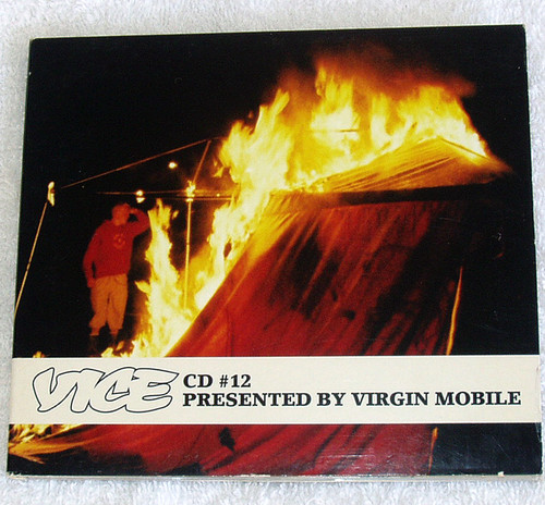 Alternative Punk Rock - VICE CD #12 (Virgin Mobile Compilation) CD (Digipak) 2008