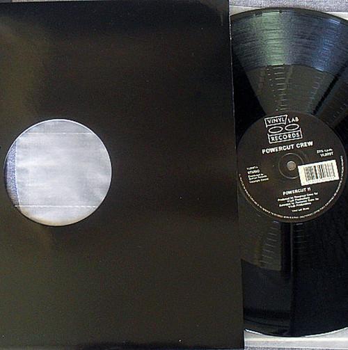 """Hip Hop - POWERCUT CREW  Powercut II 12"""" Vinyl 1989"""